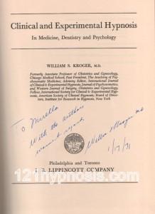 hypnose clinique et expérimentale-kroger